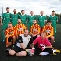 Business Fives Edinburgh Construction, Housing & Property Football