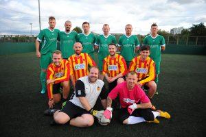 Business Fives Edinburgh Construction, Housing & Property Football