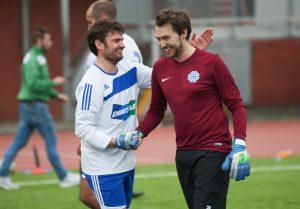 Five A Side Football Events Summer 2018 handshake