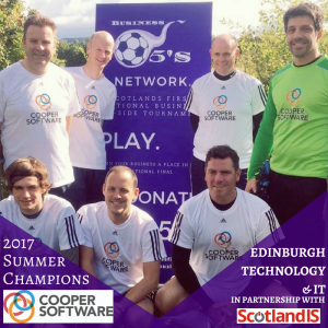 Technology and IT Five-A-Side Football Event