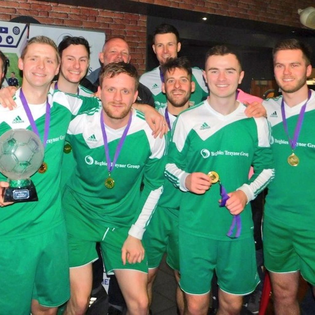 Business Fives Winter champions