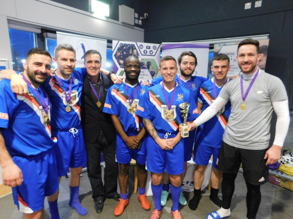Tees Valley Business Fives Champions