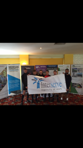 Liverpool Charity Football Event Interserve team photo