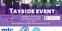 tayside football event