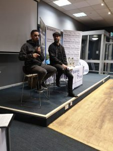 Guest Speak picture at Business Fives debut in Bristol